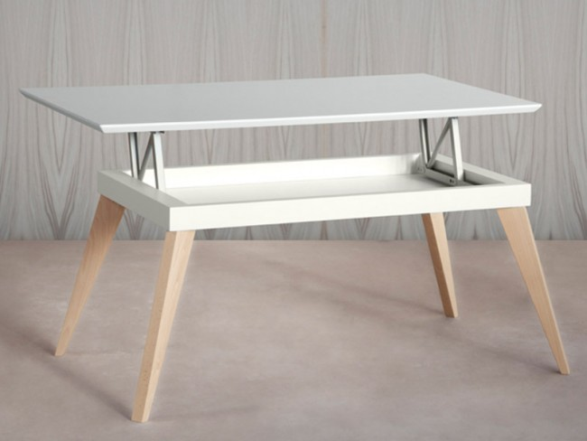 Mesa centro nordic elevable de tdz collection tendenza store for Mesa centro elevable