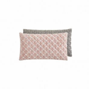 Cojín Silaï Rose Light-Grey de Gan-Rugs en Tendenza Store