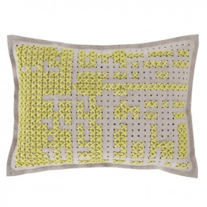 Cojín Abstract Amarillo de Gan-Rugs en Tendenza Store