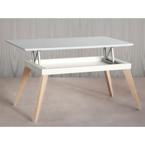 Mesa centro Nordic elevable de TDZ Collection