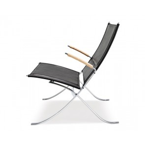Silla Fk 82 X-Chair, silla con Brazos de Lange Production.