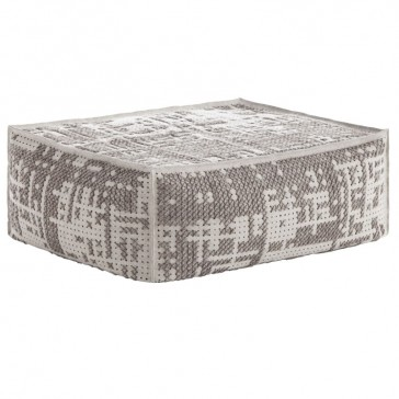 Puf Soft Abstract Plata de Gan-Rugs en Tendenza Store
