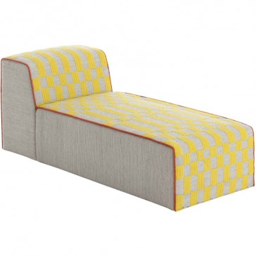 Puff Chaiselongue Bandas B Yellow de Gan-Rugs en Tendenza Store