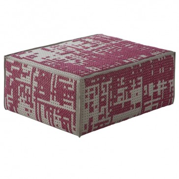 Puf Modular Abstract Rosa de Gan-Rugs en Tendenza Store