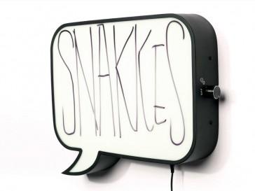 SNAKKES Lámpara de Pared