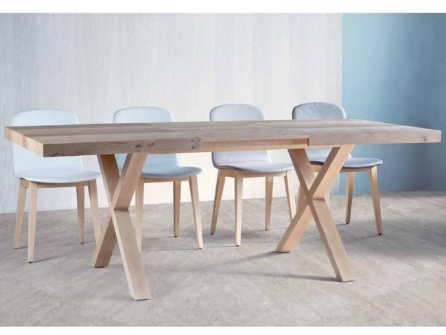 Mesa comedor extensible Copenhague