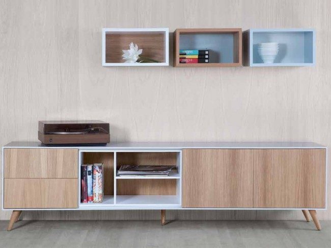 Mueble tv nordic 205 de tdz collection en tendenza store - Muebles de tv de diseno ...