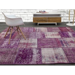 Alfombra Patchwork 12RE Lavanda de Parentesi Quadra en Tendenza Store