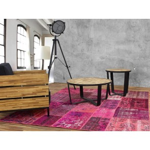 Alfombra Patchwork 8RE Fuchsia de Parentesi Quadra en Tendenza Store