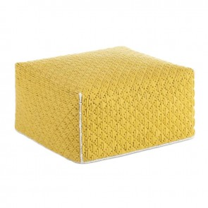 Puf Silaï Yellow Big de Gan-Rugs en Tendenza Store