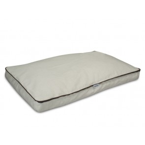 Cama mascota Güashy Natura-Lino rectangular XL de TDZ Collection