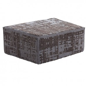 Puf Modular Abstract Charcoal de Gan-Rugs en Tendenza Store