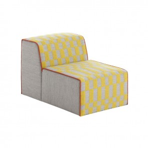 Puff Chair Bandas B Yellow de Gan-Rugs en Tendenza Store