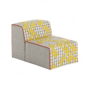 Puff Chair Bandas C Yellow de Gan-Rugs en Tendenza Store