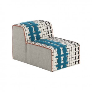 Puff Chair Bandas E White de Gan-Rugs en Tendenza Store