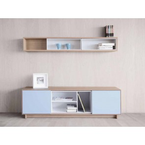 Mueble de TV Nordic 160, con zócalo de TDZ Collection en Tendenza Store